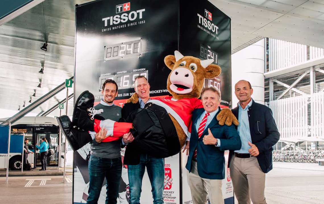 Tissot Countdown zur IIHF Eishockey-Weltmeisterschaft
