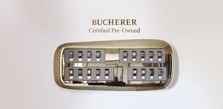 Bucherer Certified Pre Owned Watches