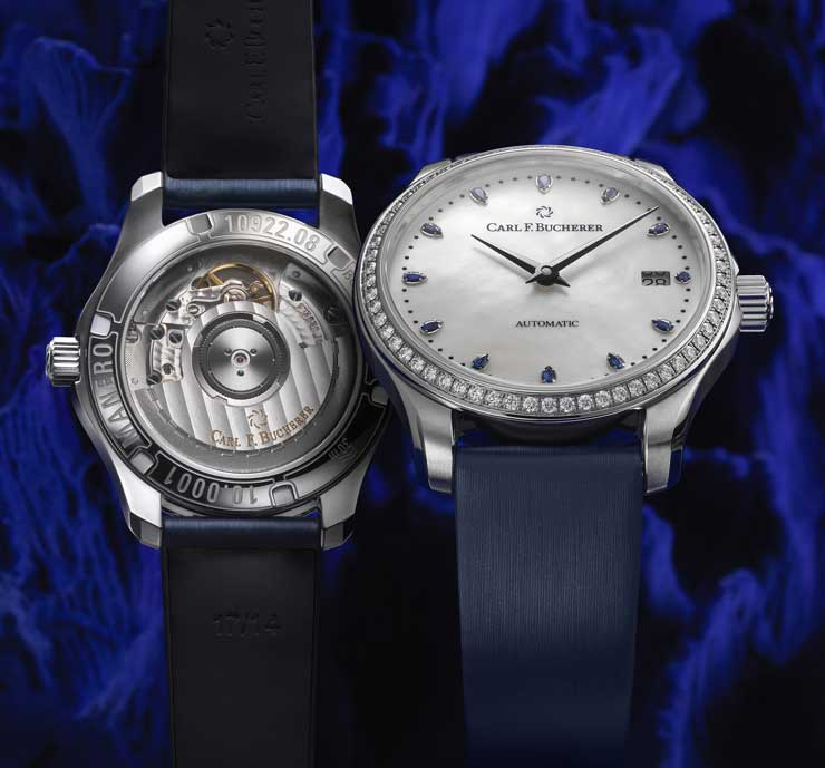 Carl F. Bucherer Manero AutoDate Bucherer Blue