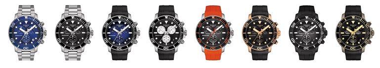 Eleganz im und unter Wasser verspricht der neue Tissot Seastar 1000 Quartz Kollektion