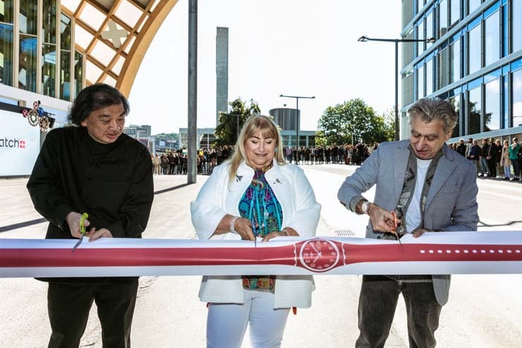 Swatch Hauptsitz, Biel, opening ceremony