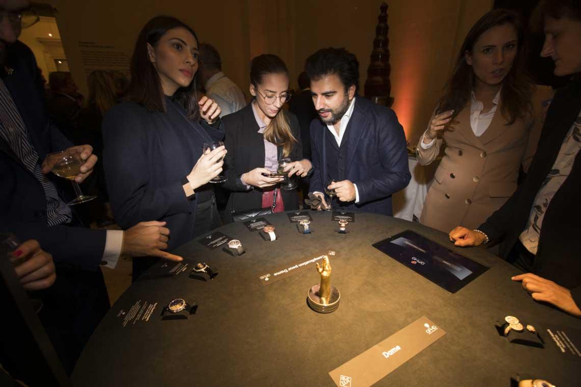 GPHG Ausstellung über die Uhrmacherkunst in Genf