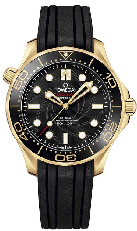 Omega Seamaster Diver 300 m James Bond, Edelstahl