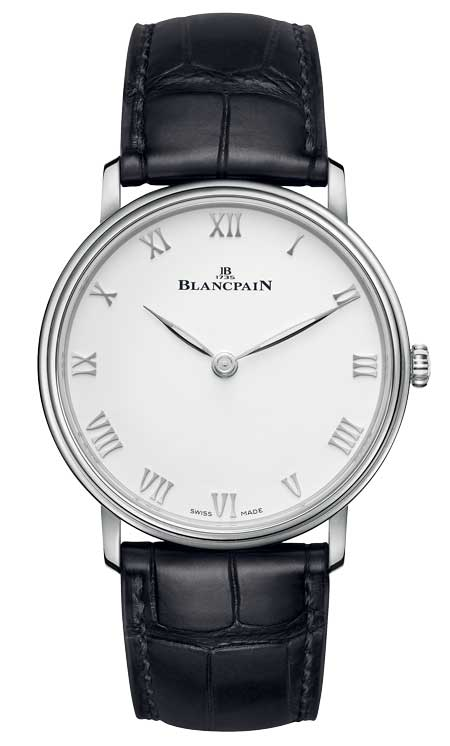 Blancpain Villeret Extra-plate Referenz 6605-1127-55B