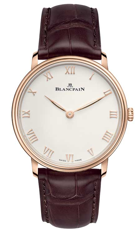 Blancpain Villeret Extra-plate Referenz 6605-3642-55A / 6605-3642-55B