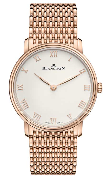Blancpain Villeret Extra-plate Referenz 6605-3642-MMB