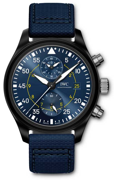 IWC Pilot´s Watch Chronograph Edition Blue Angels ®