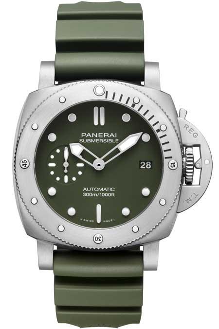 Panerai Submersible Verde Militare
