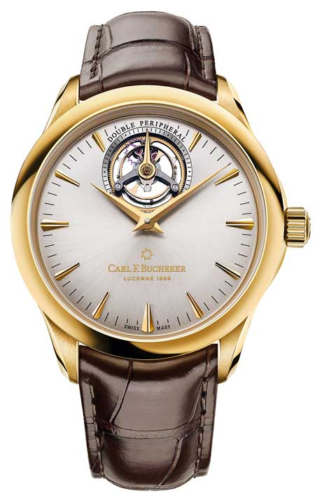Manero Tourbillon Double Peripheral Gelbgold