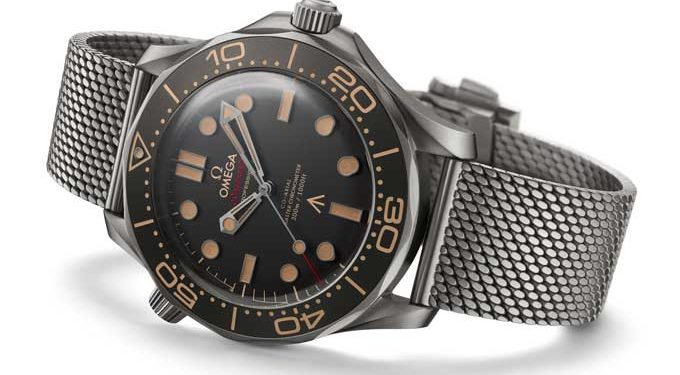 Die Omega Seamaster Diver 300M 007 Edition James Bond no time to die