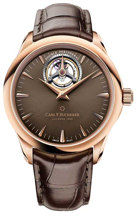 Manero Tourbillon Double Peripheral Roségold