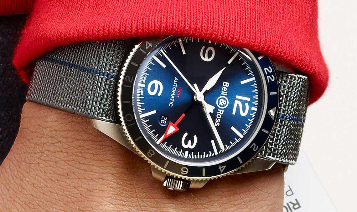 Bell&Ross BRV2-93 GMT blue