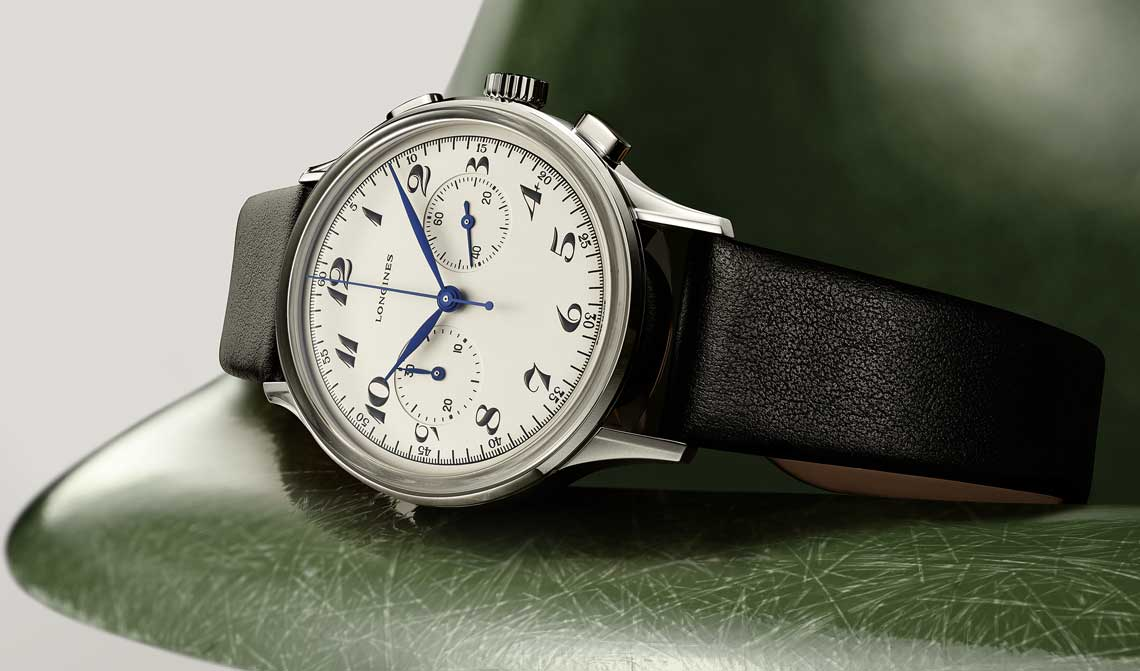 The Longines Heritage Classic Chronograph 1946