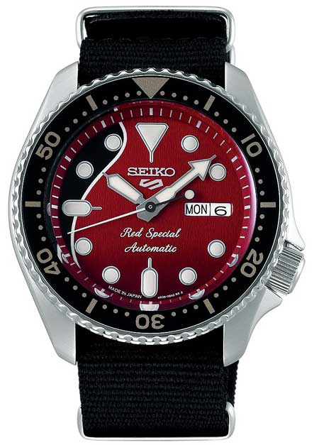 Seiko 5 Sports Red Special Brian May