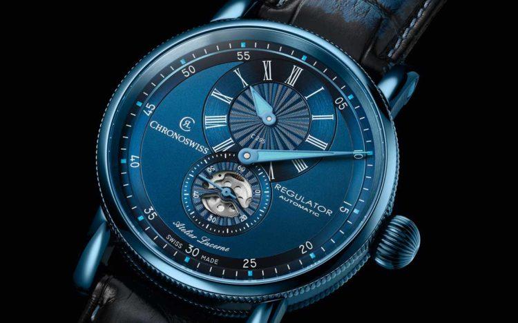 Chronoswiss Regulator Classic Blue Steel