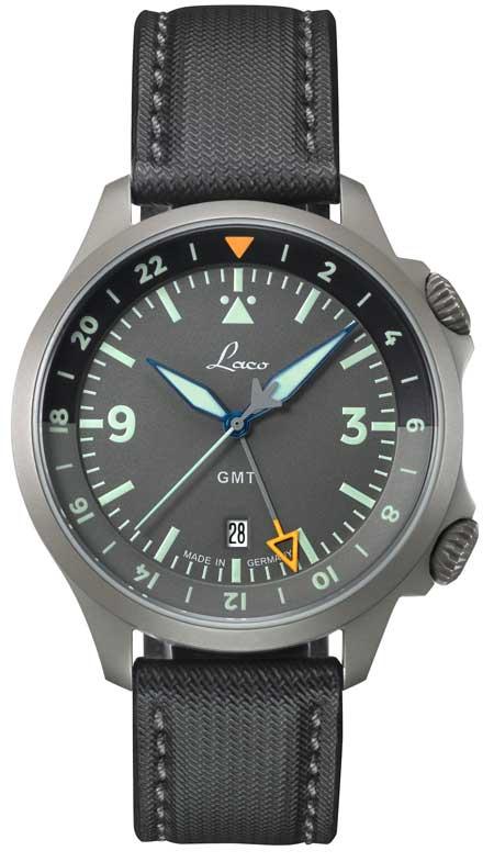 Laco GMT-Modelle im Fliegeruhren-Look