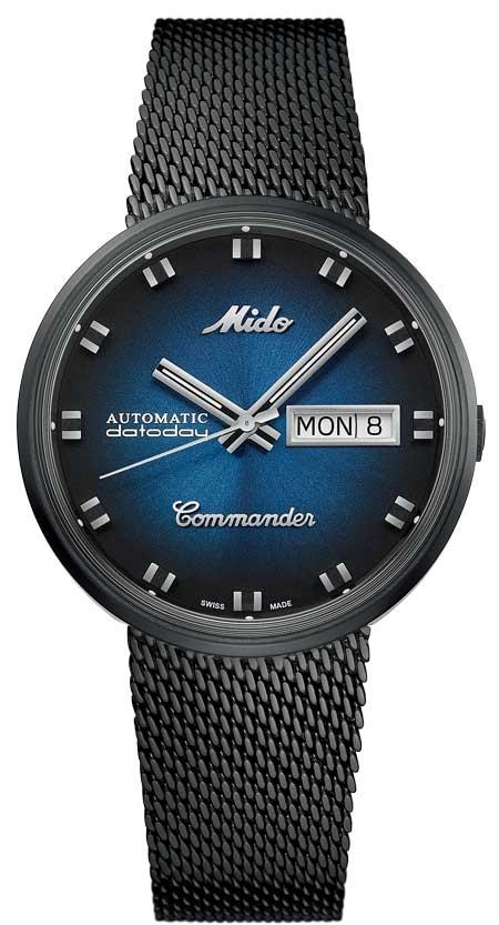 Mido Commander Blue Shade