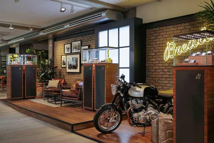Breitling Pop-Up Store im SOHO-House Berlin