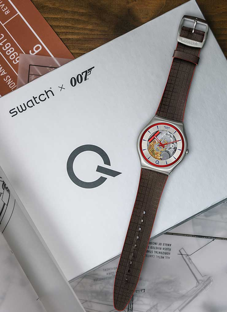 Swatch Skin Irony Q limited edition