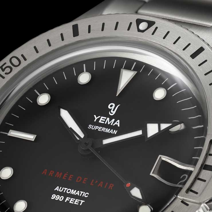 Yema Superman French Air Force Steel