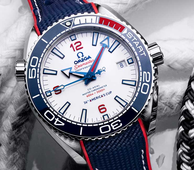 Seamaster Planet Ocean 36th America's Cup Limited Edition