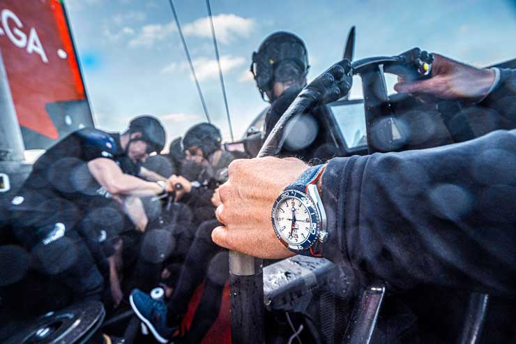 Emirates Team New Zealand, Seamaster Planet Ocean 36th America's Cup Limited Edition a