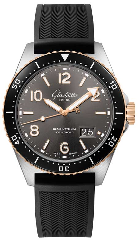 Glashütte Original SeaQ Panoramadatum Bicolor