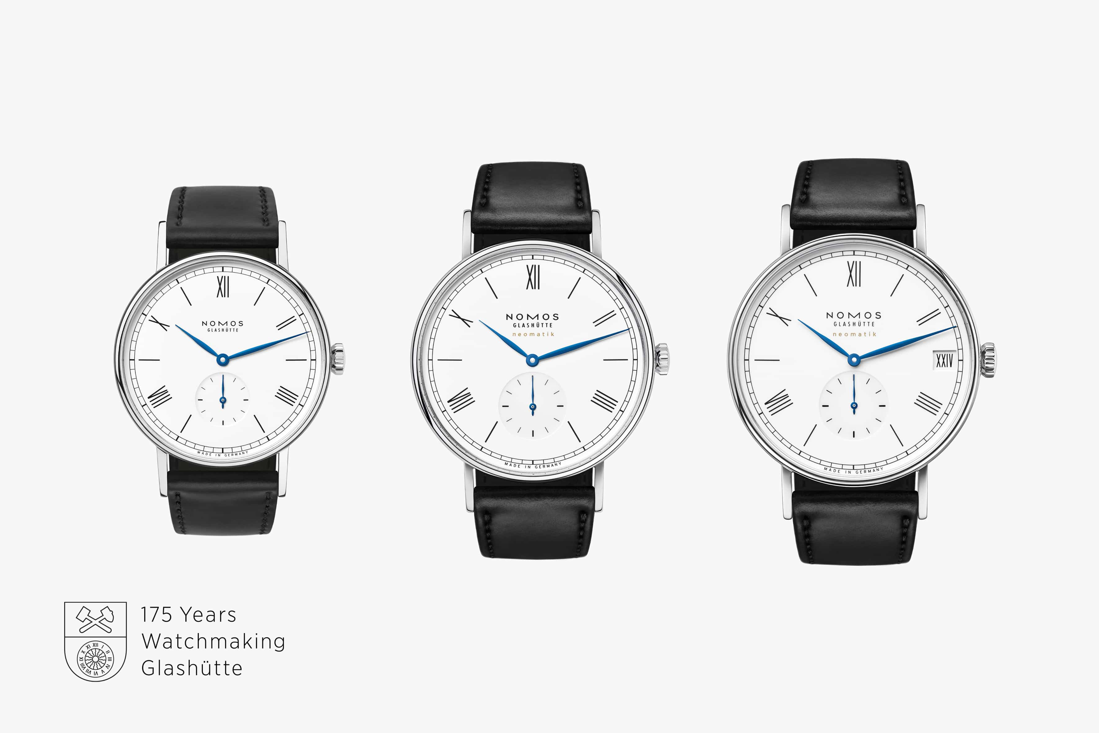 Nomos Ludwig 175 Years Watchmaking Glashütte
