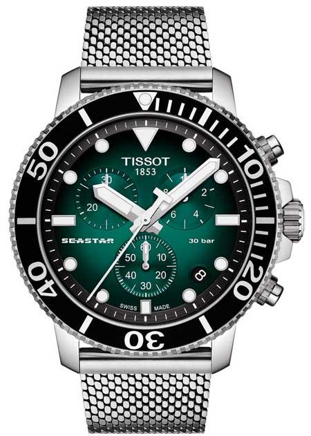 Tissot Seastar 1000 Chronograph mit Quarzwerk