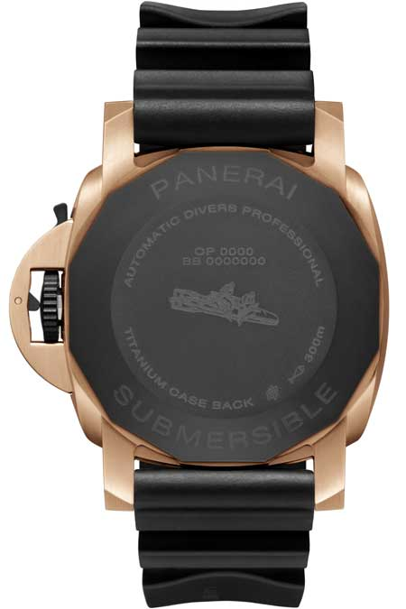 Panerai Submersible Goldtech™ Orocarbo – 44mm