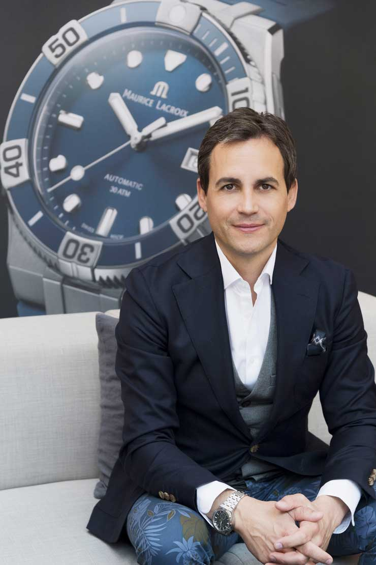 Stephane Waser, CEO Maurice Lacroix