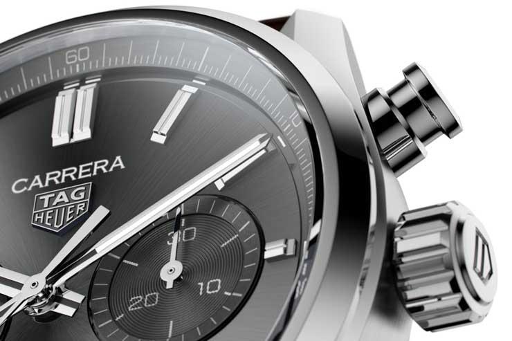 TAG Heuer Carrera Chronograph 42 mm Calibre Heuer 02 Automatik Referenz CBN2012.FC6483