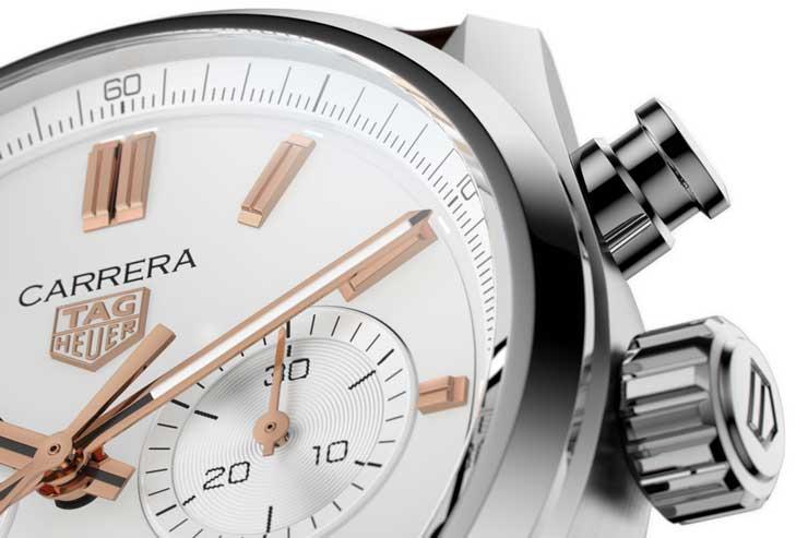 TAG Heuer Carrera Chronograph 42 mm Calibre Heuer 02 Automatik Referenz CBN2013.FC6483